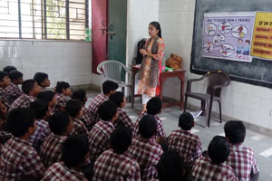 Help a poor girl child continue school education