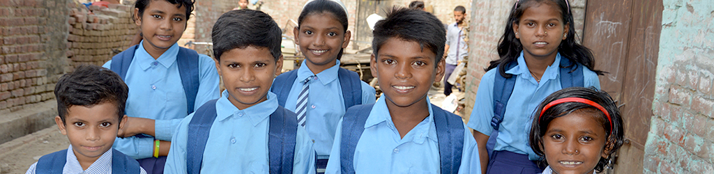 Education project for children of rag pickers in an urban slum in the National Capital Region (NCR) of Delhi