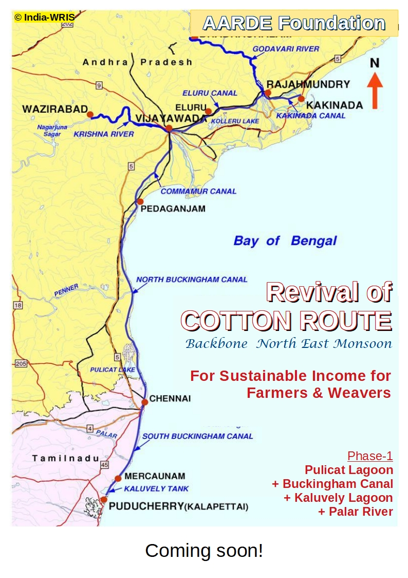 Revival of COTTON ROUTE: For Sustainable Income Generation for Farmers & Weavers of Coromandel Coast