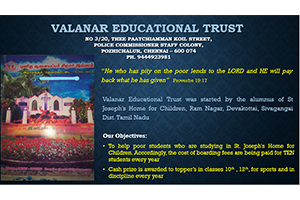 Helping poor orphan school students for their educational needs