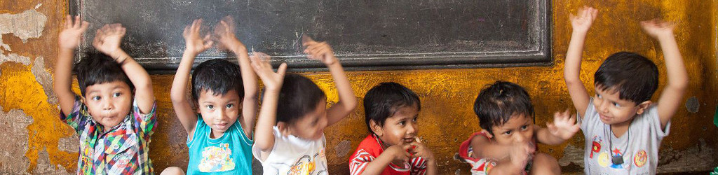 Sponsor daycare for the children of construction labourers