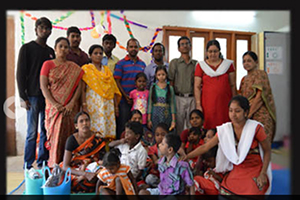 Sponsor for 140 underprivileged children and young adults with special needs towards Education, Training & Livelihood
