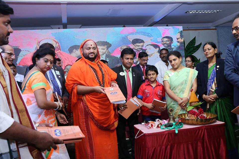 Distribution of Note Books, which are generated from old note books & waste paper