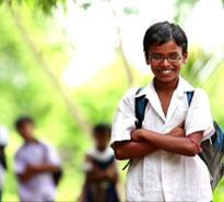 Provide education to a poor, working child