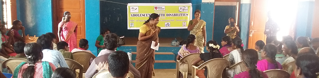 Improvement of Health and Education of Adolescents with HIV and disability.