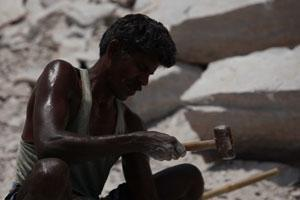 Sponsor a month's food and medical aid for quarry workers