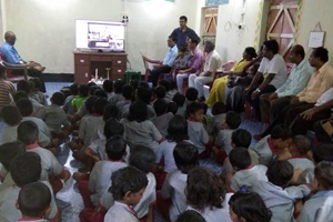Support an e-learning project in remote rural Sunderban