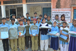 Support rural children's dream of being educated