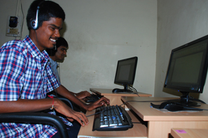 Help in providing digital literacy to blind children