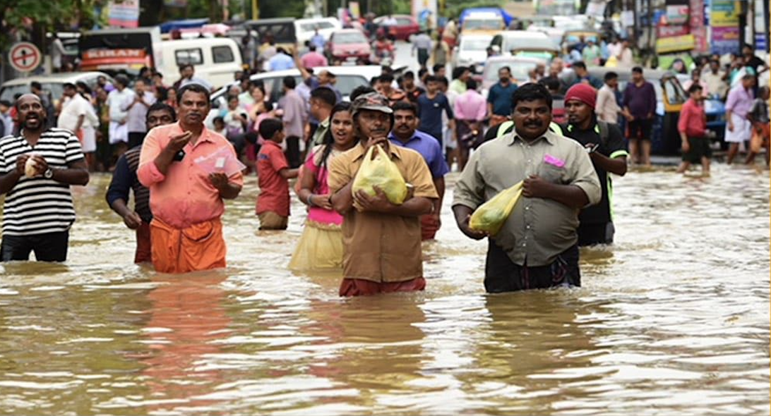 Raising funds for Flood Relief Operations in Kerala