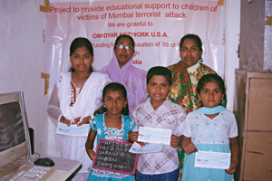 Help children of terror attacks victims continue their education
