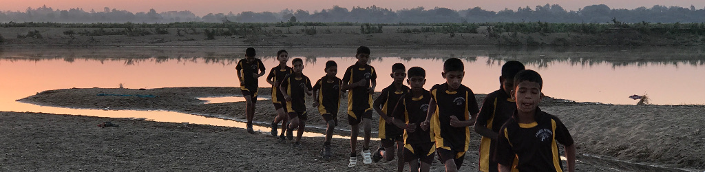 Sponsor sports training for talented rural children