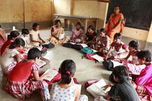 Provide a year of education to a tribal girl in Odisha