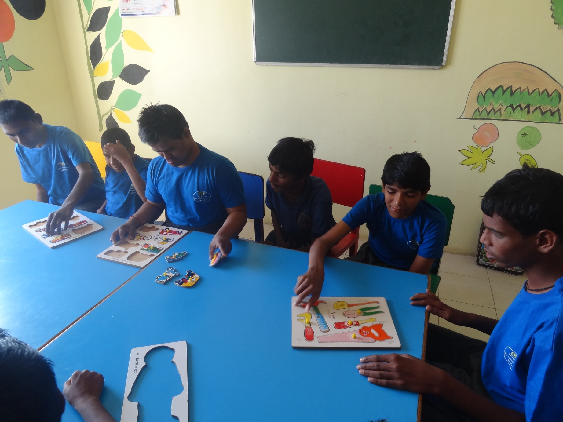 Education and training to the children with intellectual disabilities