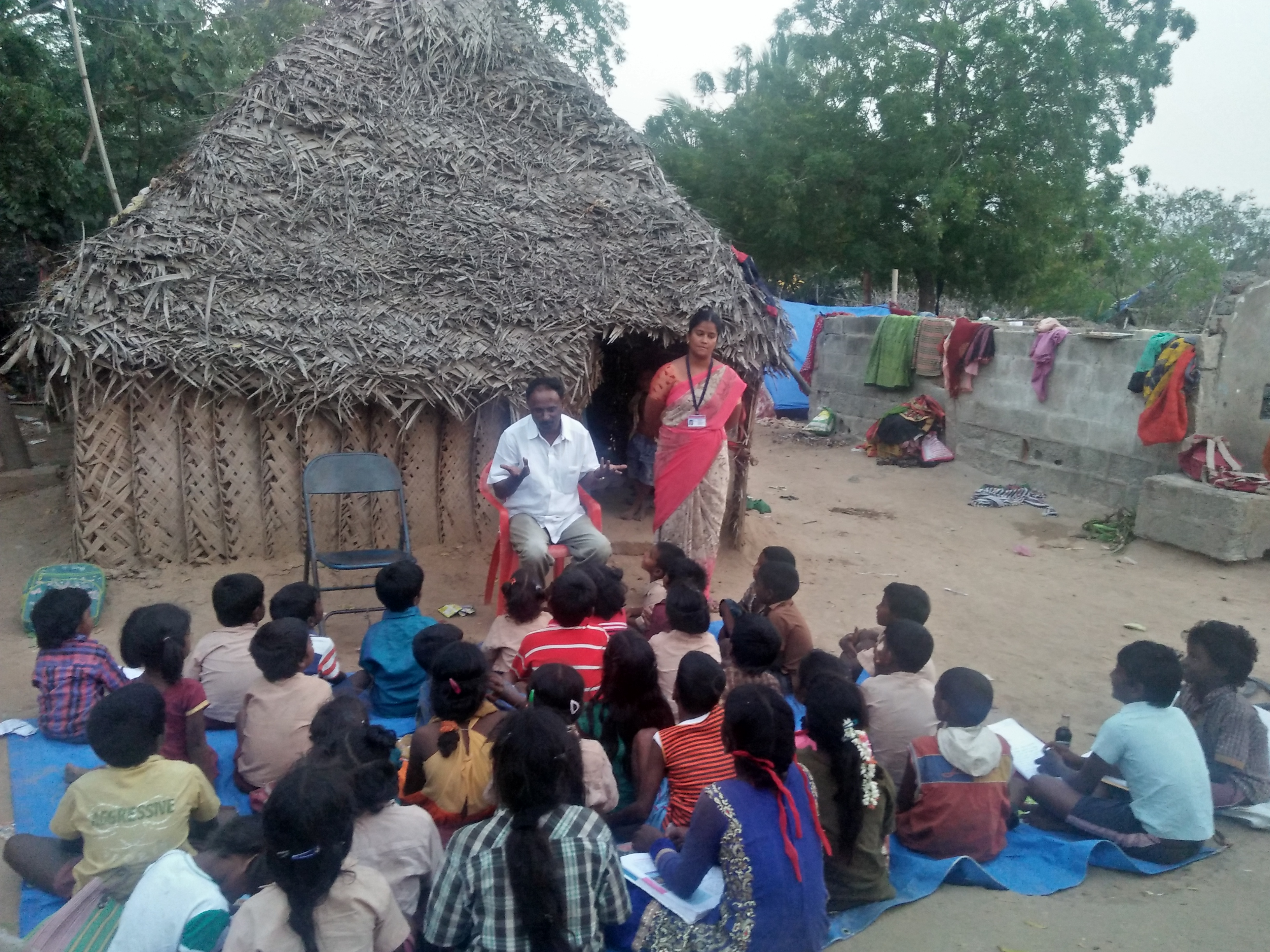 Evening Educational Coaching centre for deprived poor and maginalised children