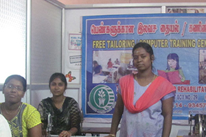 Ensuring Sustainable Livelihood of Nomadic Young Women through Alternative Employment,Skill Development Training on Tailoring and Modern Dressmaking with Marketing-Bacend support