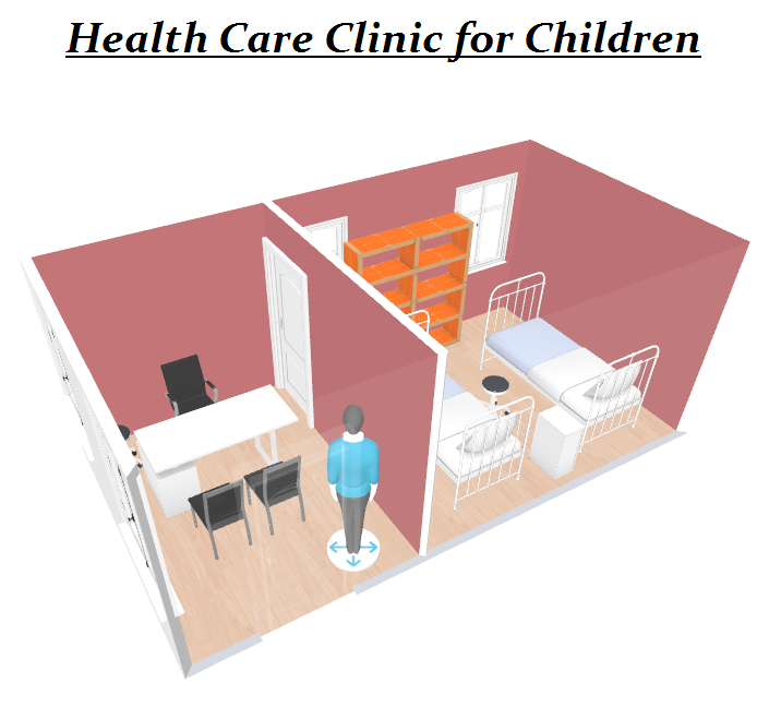 Donate a brick to build a health care clinic for the underprivileged children