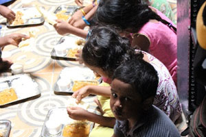 Provide Sunday Special Meal to the needy children
