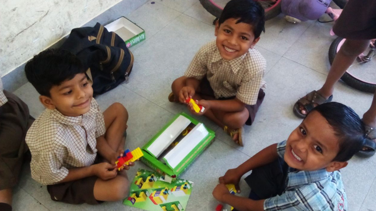 Help underprivileged children get access to educational games and toys