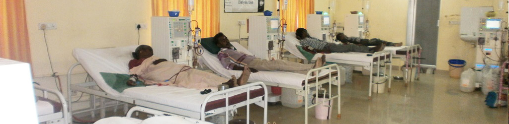 Helping the underprivileged with kidney ailments