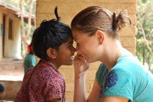 Sponsor clean water and nutritious meals for a rural child