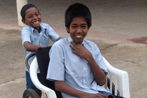 Donate towards an education centre for disabled children