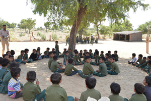 Help provide educational material for 500 tribal students