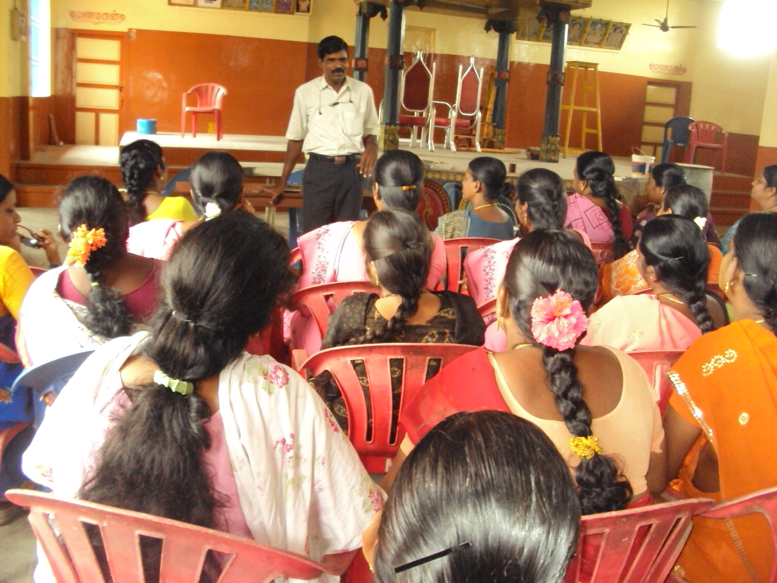 Empowering women through Vocational Training skills in Kunrathur block, Kanchipuram district in Tamil Nadu, India.
