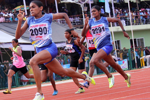 Training Young Women Athletes to represent India at Olympics