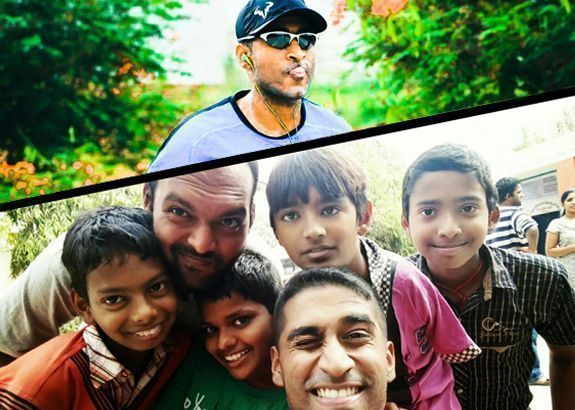 Donating miles for smiles – Vivek's campaign for the children of Bhumi