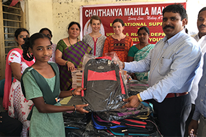 Educational Aid to Rural Deprived Children in Rural Telangana State,India