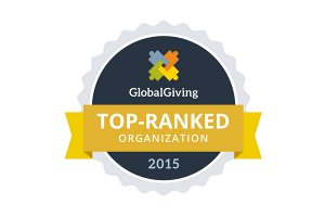 Global Giving Top Ranked Organization 2015