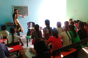 Remedial classes for underprivileged school children
