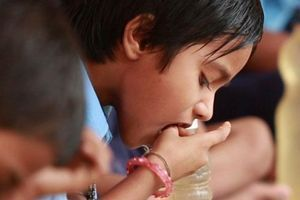 Sponsor a child's midday meals at school