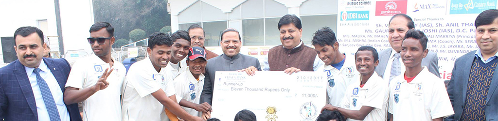 Rehablitation and upliftment of blind people through cricketing activities (tournaments, workshops, camps etc.)